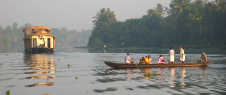 Alleppey Kerala India Backwaters