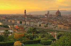 Florence Italy Skyline