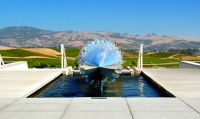 Napa Valley Vineyard fountain