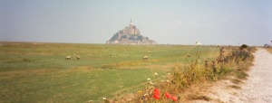 Mont St. Michel Normandy France