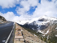 Trail Ridge Road Rainbow Curve