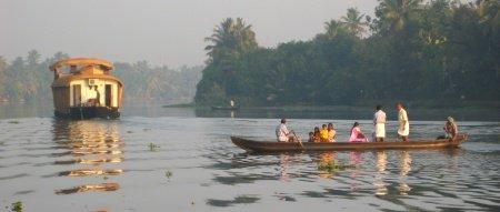 Alleppey Kerala India Backwaters