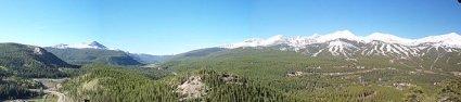 Breckenridge Colorado panorama