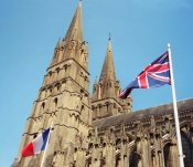 Bayeux Normandy France Cathedral