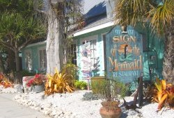 anna maria island restaurant sign of the mermaid